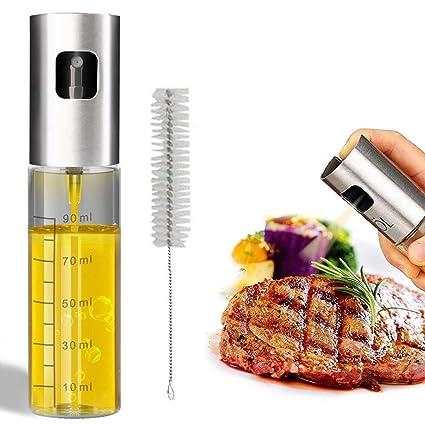 Eletorot Dispensador de pulverizador de Aceite, Rociador de Aceite, rociador de vinagre, Premium