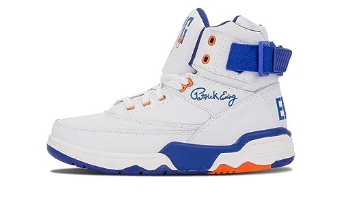 Patrick Ewing Hombre Ewing 33 Hi Zapatillas de Gimnasia Blanco Size  41   Amazon.es  Zapatos y complementos 426519bdf1633