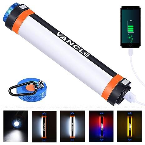 La Accrochante Portative 7800mah Camping D'usb Camp De LedUsb Vancle Lumière Allume Lanterne Lampe Torche Magnétique 6 ModesRechargeable lFK1TJc3