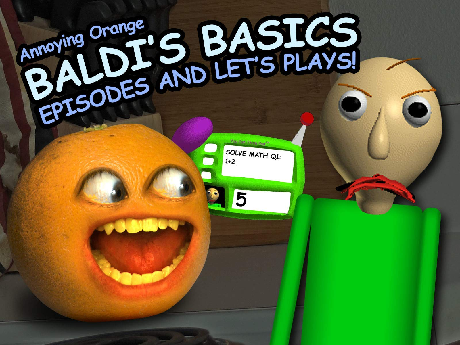Clip: Annoying Orange - Baldi's Basics Episodes and Let's Plays! - Season 1