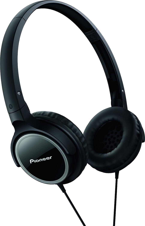 Pioneer SE-MJ512-K - Auriculares de diadema cerrados (1.2 m, 500 mW), negro y gris: Amazon.es: Electrónica