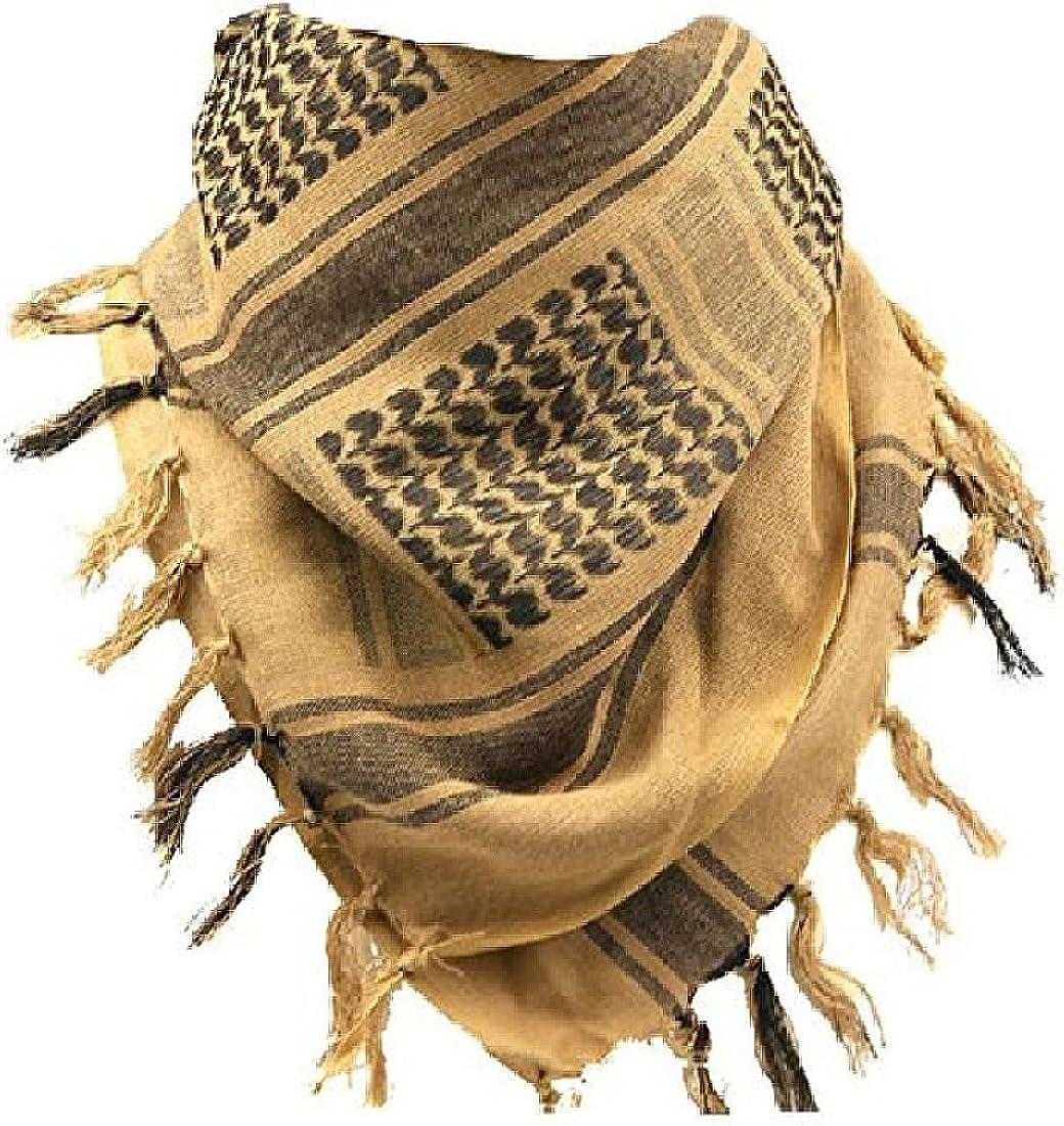 Bufanda táctica del desierto Shemagh árabe Keffiyeh
