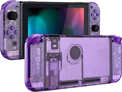 eXtremeRate Carcasa Transparente para Nintendo Switch Funda ...