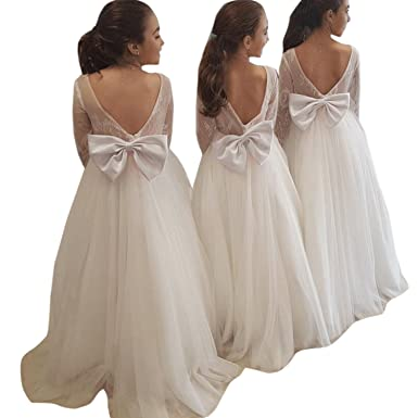 Amazon.com: Magicdress Flower Girls Dress Wedding Party Communion ...