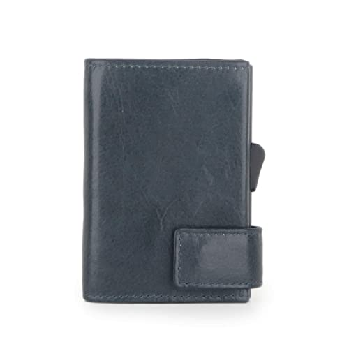 7843f3d3edbf1 SecWal 1 Kreditkartenetui Geldbörse RFID Leder 9 cm  Amazon.de ...