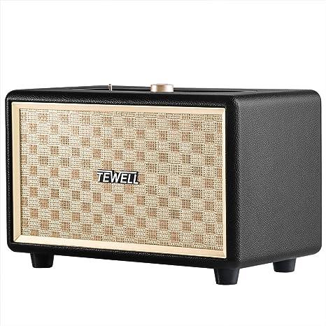 Review Bluetooth Speaker, TEWELL Retrorock