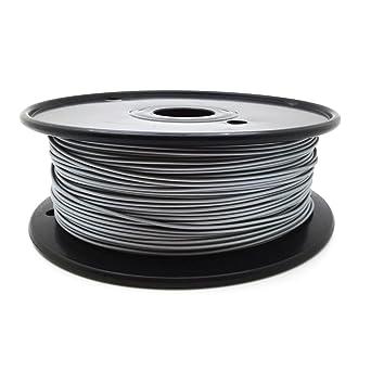 Aluminum Filament 1,75mm, 25g, 190/°C - 230/°C AptoFun Metal mit Premium Qualit/ät f/ür 3D Drucker MakerBot RepRap MakerGear Ultimaker uvm// auch f/ür 3D-Stifte