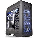 Thermaltake Core V71 Full-Tower Negro - Caja de ordenador (Full-Tower, PC, SPCC, Fondo, ATX, EATX, Micro-ATX, Mini-ITX, Juego)