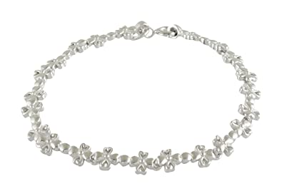 5a11654784db72 Image Unavailable. Image not available for. Colour: ARISIDH Latest  Exclusive Design 92.5 Pure Sterling Silver Bracelet ...