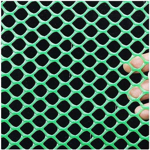 XXN Cercas de Malla de Plástico Verde, Almacenamiento Anti-caída de Plástico Antirrobo de Aislamiento Valla de Seguridad Gato Perro Vida Silvestre Jardín de Protección Edificio Cerca de Nieve: Amazon.es: Jardín