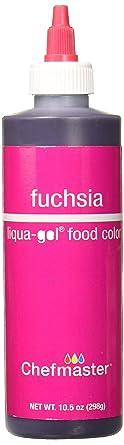 Chefmaster Liqua-Gel Food Color, 10.5-Ounce, Fuschia Red