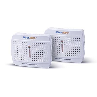 .com - Eva-dry E-333 Renewable Mini Dehumidifier 2-PACK -