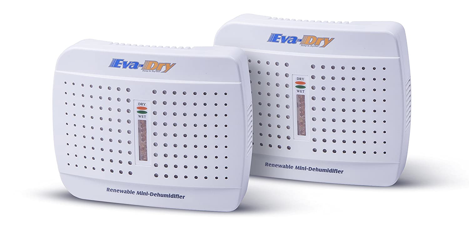 Eva-Dry E-333 Renewable Mini Dehumidifier 2-PACK MSM E-333 2P eva dry