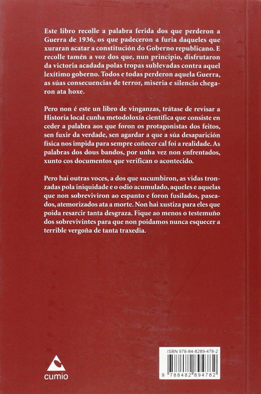 Nigrán: memoria dunha Guerra, 1936-1939 (Documenta): Amazon ...