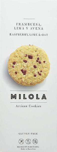 Milola, Galleta de Frambuesa, Lima y Avena - 3 de 140 gr. (
