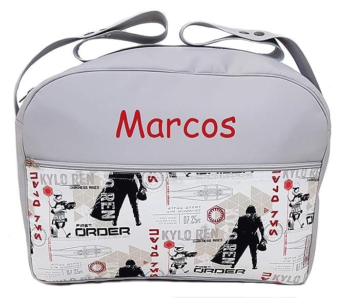 Maxi bolso para carrito de bebé BORDADA CON EL NOMBRE del ...
