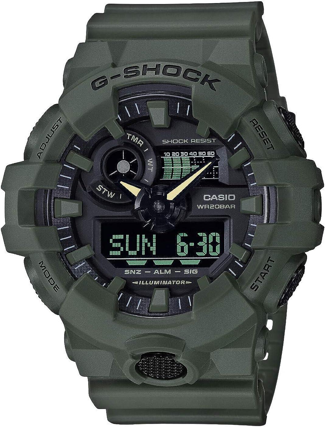 Casio G-SHOCK Reloj Analógico-Digital, 20 BAR, para Hombre