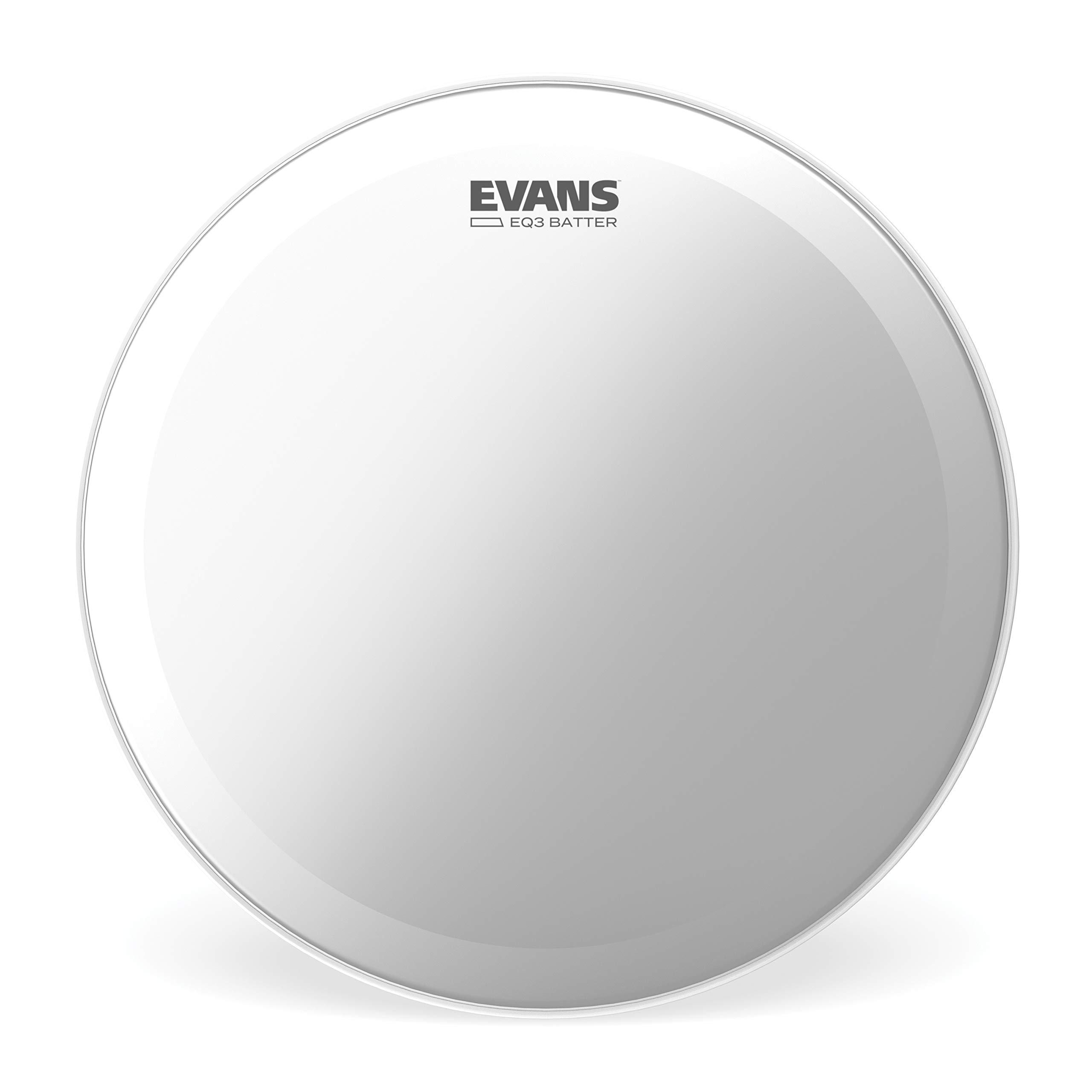 Evans EQ3 Frosted Bass Drum Head, 22 Inch by Evans
