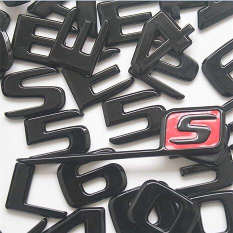 Chrome Trunk Letters Number Emblem Emblems Badge Sticker for Mercedes Benz CL600