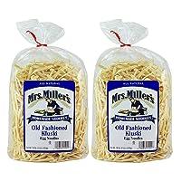 Mrs. Millers Old Fashioned Kluski Egg Noodles 16oz. Bag (2 Bags)