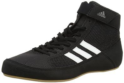 adidas Unisex Adults AQ3325 Wrestling Shoes, Black (Black), 7.5 UK 41 1