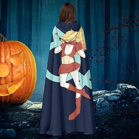 AISFGBJ Albornoz Unisex con Capucha, para Halloween, Bruja ...