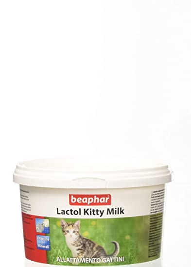 Leche en Polvo Para Gatitos Kitty Milk Beaphar: Amazon.es: Productos para mascotas