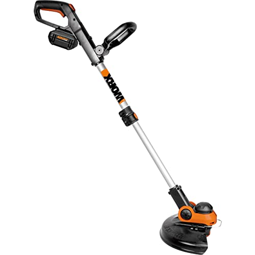 WORX Cordless Grass Trimmer Edger, 40V Li-ion 12