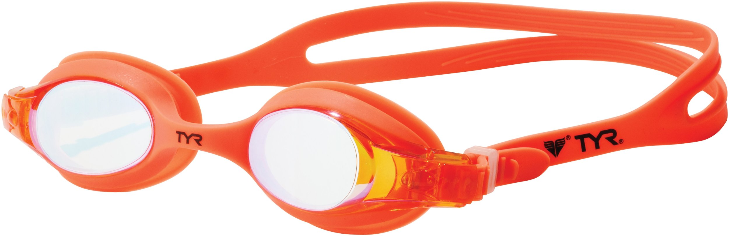 TYR Swimple Youth Metallized Goggle (Manic Mango)