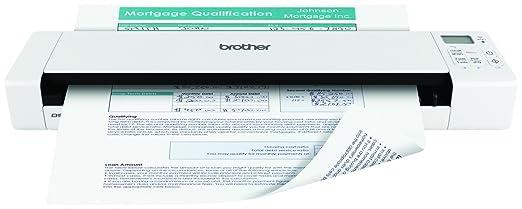 38 opinioni per Brother DS-920DW Scanner Portatile, Risoluzione 600x600 DPI, Batteria