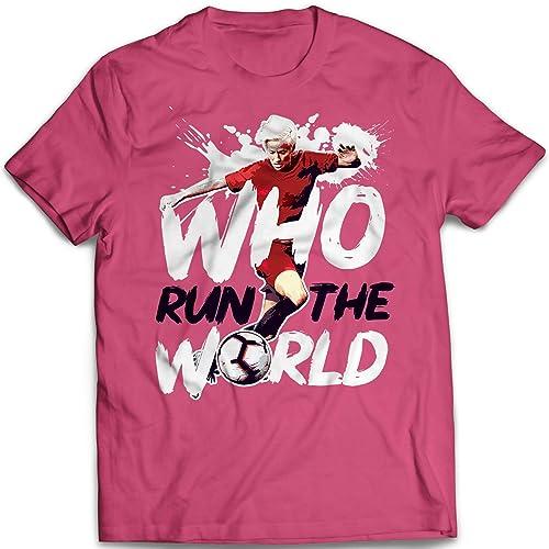 Amazon com: BADASS TEE Rapinoe No 15 Who Run The World USA