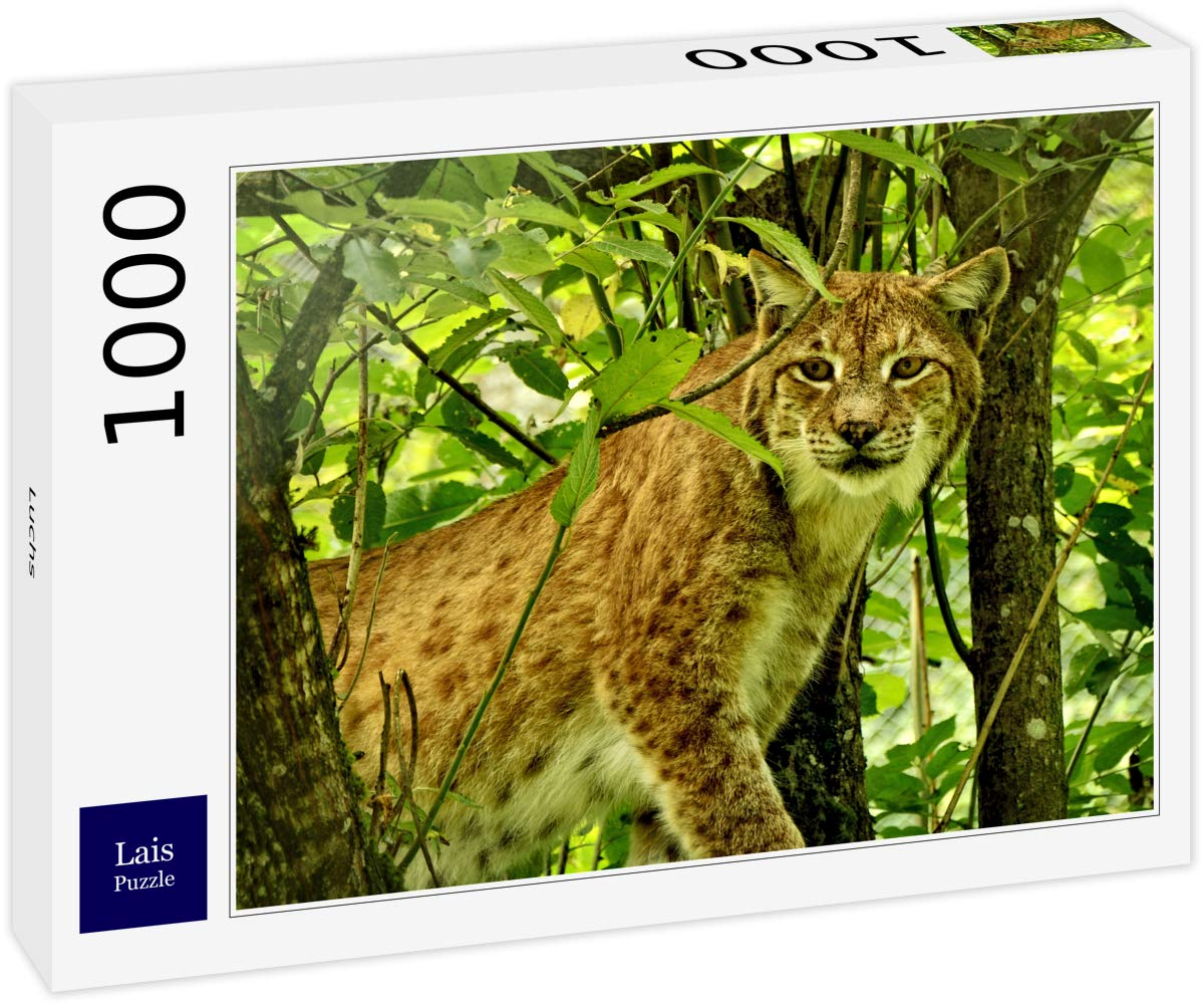 Lais Puzzle Lince 1000 Piezas: Amazon.es: Juguetes y juegos