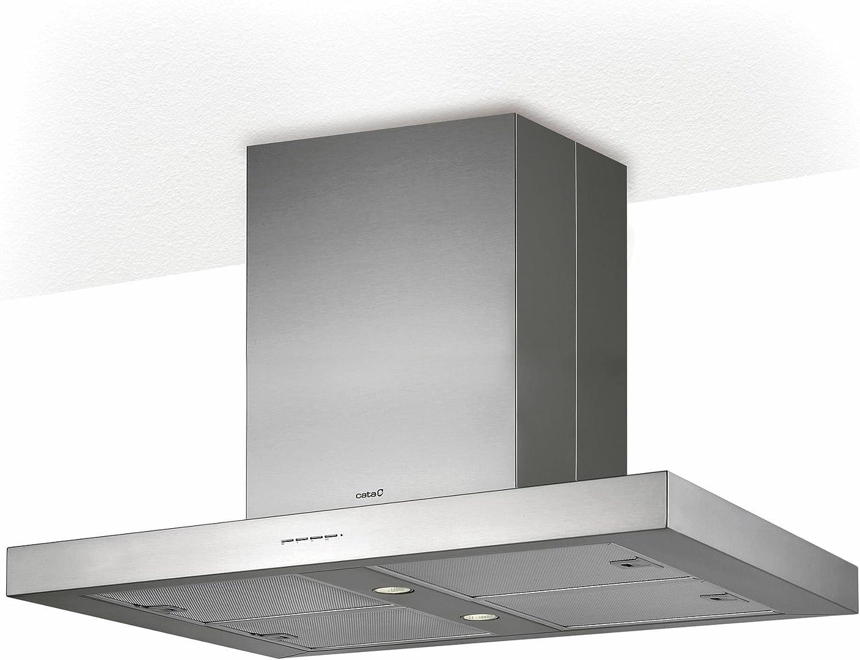 CATA ISLA SYGMA 900 780 m³/h Acero inoxidable C - Campana (780 m³/h, Canalizado/Recirculación, D, A, B, 58 dB): Amazon.es: Grandes electrodomésticos