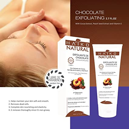 CHOCOLATE EXFOLIATING EXFOLIANTE DE CHOCOLATE