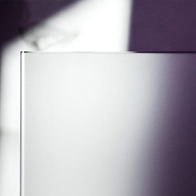 Ecken gesto/ßen Glasplatten ESG 5mm klar durchsichtig Kanten geschliffen und poliert biege- und sto/ßbelastbar. Nach Ma/ß bis 60 x 60 cm 600 x 600 mm Einscheibensicherheitsglas ohne Stempel