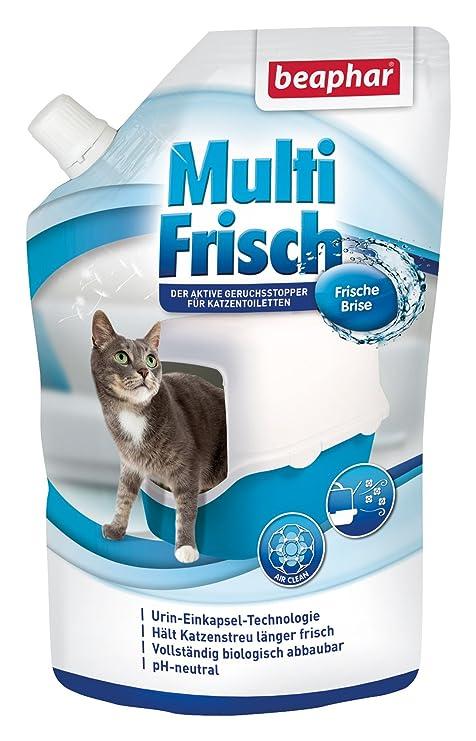 Beaphar Multi recién Brisa | neutralizador de olores para Gato nklos | alarga la Vida útil