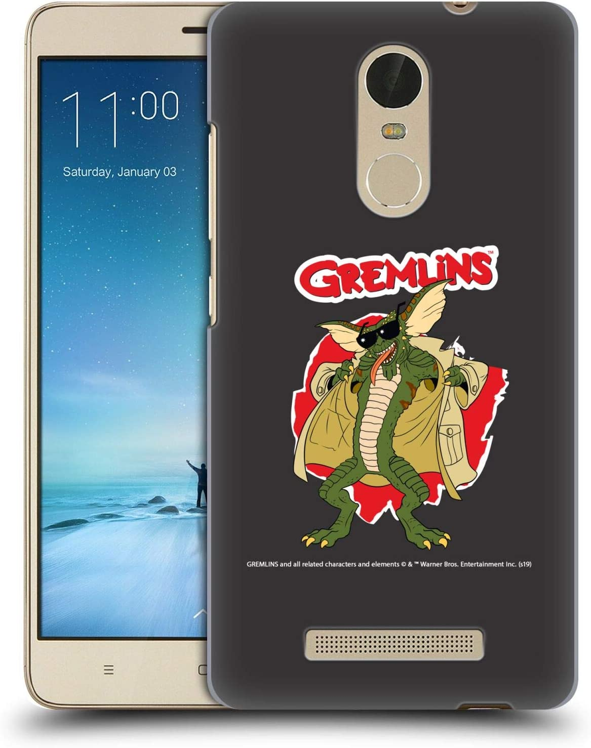 Official Gremlins Flasher Graphics Hard Back Case Compatible for Xiaomi Redmi Note 3 / Pro