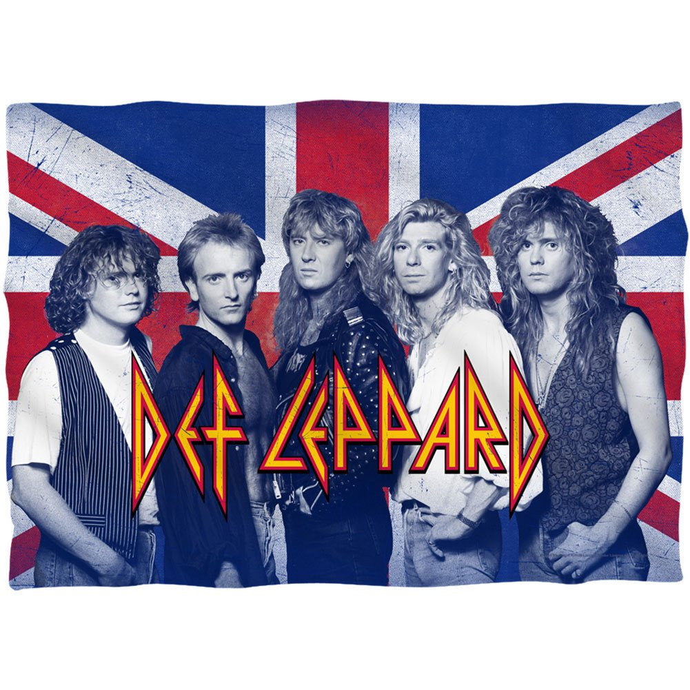 Def Leppard The Boys Pillow Case 20X28 White by Def Leppard (Image #1)