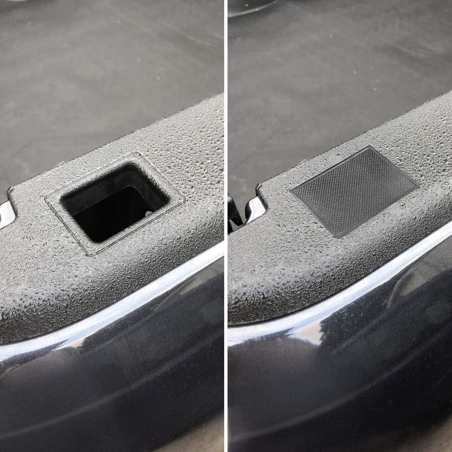 IBACP Fits for 2009-2018 Dodge Ram 1500 2500 3500 Stake Pocket Cover Accessories Truck Bed Rail Covers Caps Rail Hole Plugs A Pair