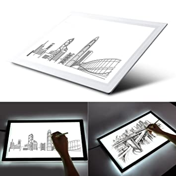Amazon.com: Caja de luz, caja de luz Tracing A4 (9.4