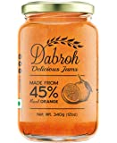 Dabroh Jam Orange Marmalade with 45% Real Fruits (No added colour/preservatives) 340gm