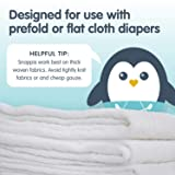 [Girl 3-Pack] Snappi Cloth Diaper Clips