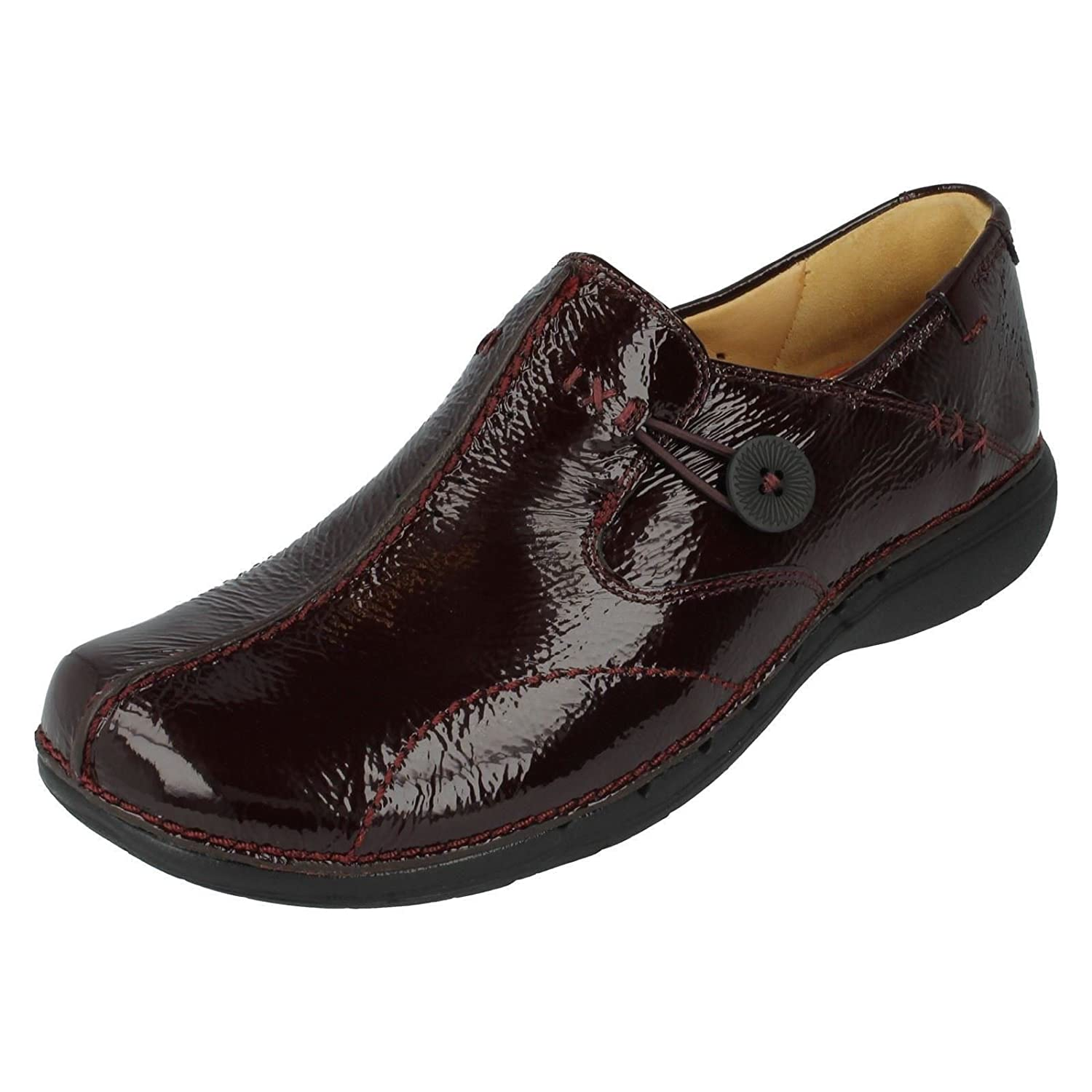 Clarks Loop Black Leather Leather 203128374030, Chaussures à lacets B000LEQMF2 femme 19995 Rouge b208e5a - automatisms.space