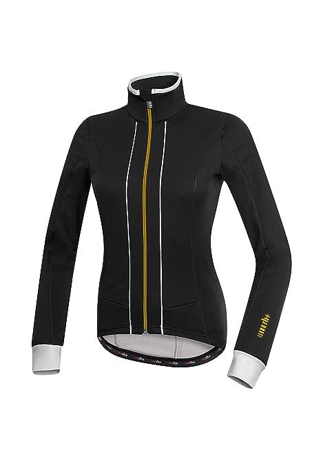 RH + Sancy W Jacket blk-WH-gld L, Chaquetas (Ciclismo) Mujer ...