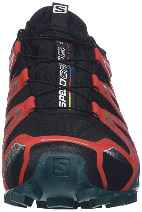 detailed look 09a91 30fab Salomon Men s Speedcross 4 GTX Trail Running Shoes Waterproof   Amazon.co.uk  Shoes   Bags