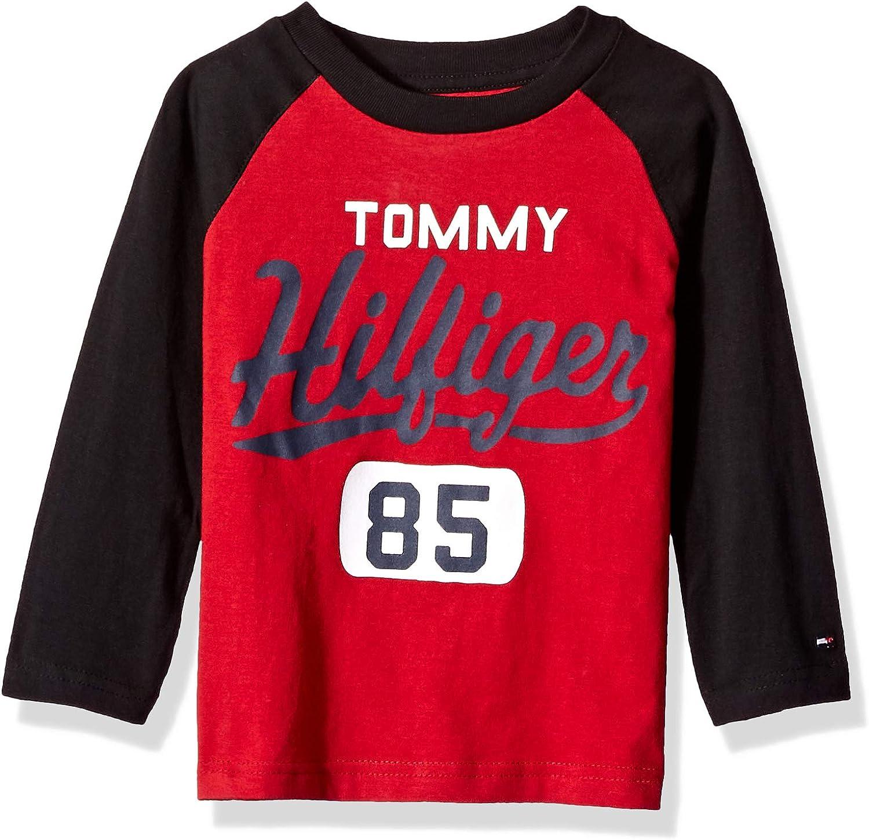 Tommy Hilfiger Boys Dustin-bex Jersey Long Sleeve Tee