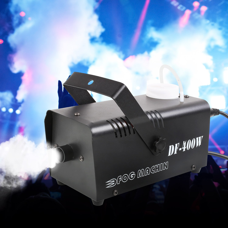 les Discos DJ les Bars les D/éfil/és et les Th/é/âtrales les Mariages T/él/écommande Id/éal pour les F/êtes MVPOWER Machine /à Fum/ée Machine /à Brouillard Conduit 400W