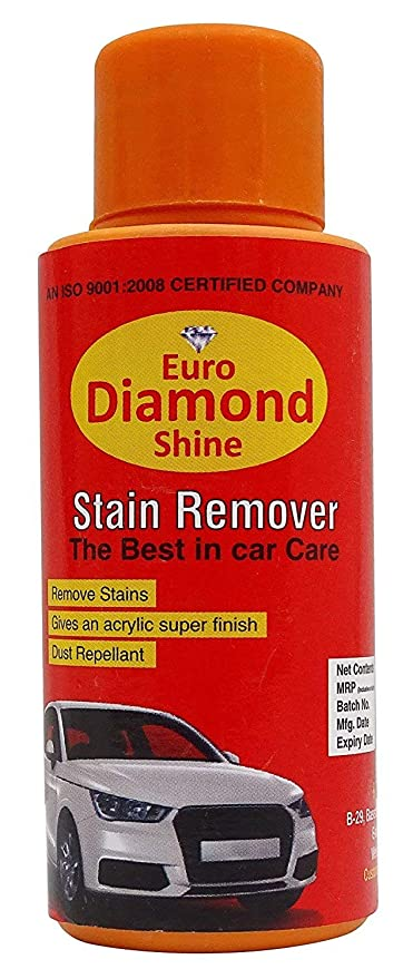 Euro Diamond Shine Car Care Stain Remover With Acrylic Coat 6 7