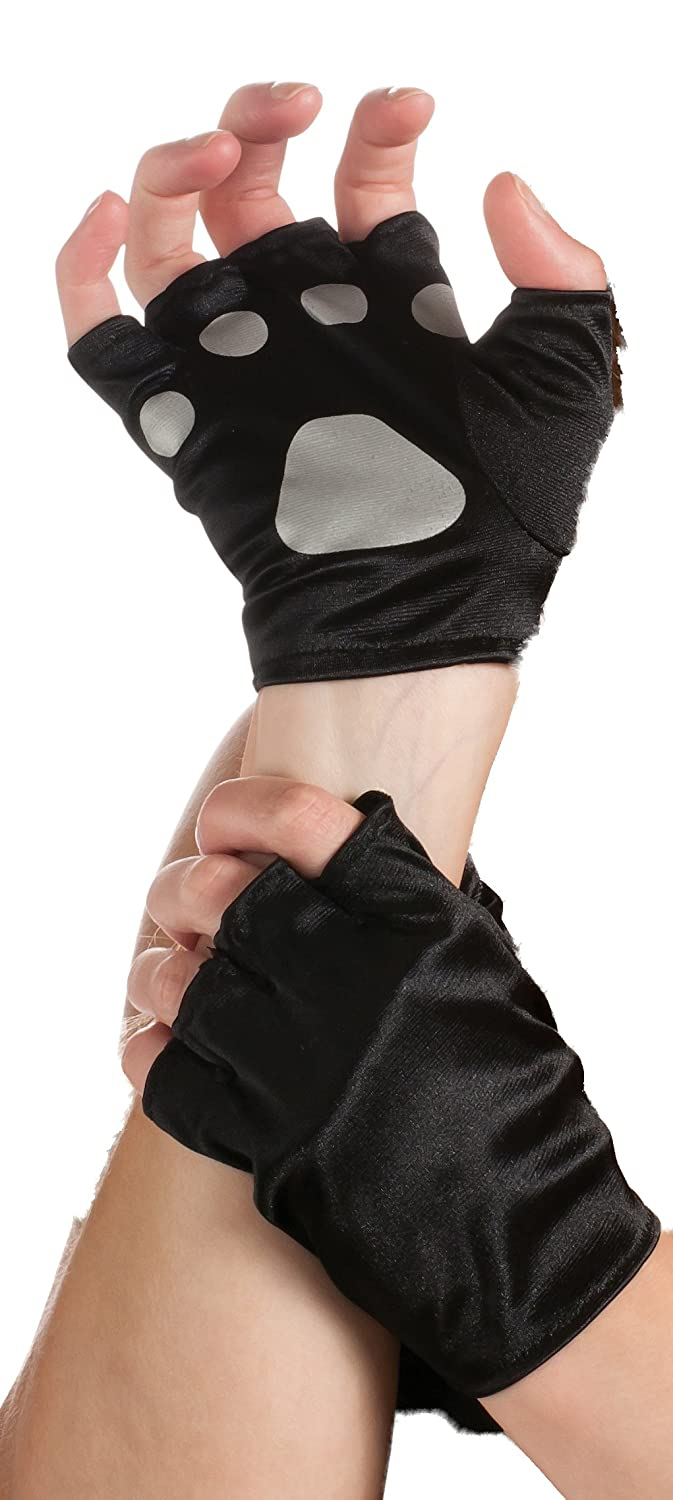 Amazon.com Rubieu0027s Cat Paws Fingerless Gloves Black/Gray One Size Clothing  sc 1 st  Amazon.com & Amazon.com: Rubieu0027s Cat Paws Fingerless Gloves Black/Gray One Size ...