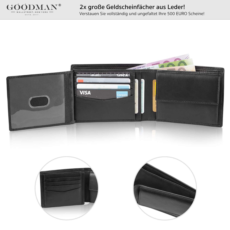 8f351f200ac07 Amazon.de  GOODMAN Wallstreet  Geldbörse